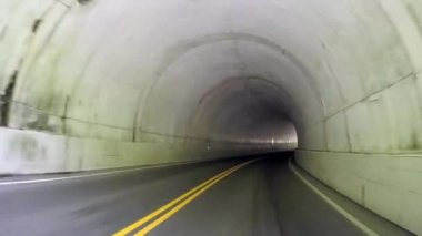 Smokies Tunnel-two — Stock Video