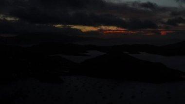 TL Coral Bay Sunrise — Stock Video
