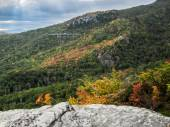 Wide View of Linn Cove Viaduct — Stock Photo