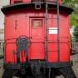 Red Caboose — Stock Photo #54224695
