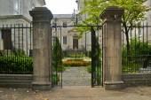 Savannah Garden and Gate — Stockfoto