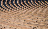 Rows of Seating at Red Rocks — Stock Photo