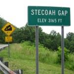 Stecoah Gap and Steep Grade — Stock Photo #56678805