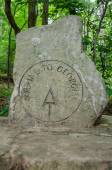Start of the Appalachian Trail Marker — Stock Photo