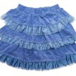 Blue skirt — Stock Photo #66303947
