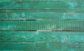 Green wooden boards as background — Stock Photo