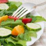 Fresh salad — Stock Photo #66311737
