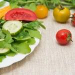 Fresh salad — Stock Photo #66311749