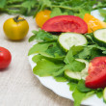 Fresh salad — Stock Photo #66311811