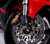 Motorcycle closeup horiz  — Photo