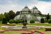 Palm Pavillon at Palace Schoenbrunn, Vienna, Austria — Stock Photo