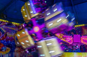 Carousel on a fair — Stock Photo