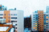 Background of a rainy town. — Stok fotoğraf