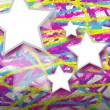 Colorful mosaic star — Stock Photo #52173731