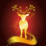 cervo dourado — Fotografia Stock  #52651781