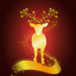 Zlatý jelen — Stock fotografie #52651781
