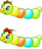 Happy caterpillars — Stock Photo