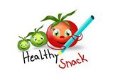 Healthy Snack with tomatoes — Foto Stock