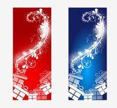 Christmas banners — Stock Photo
