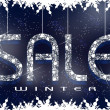 Winter Sale Background — Stock Photo #61271903