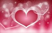 Sevgililer kartı — Stok fotoğraf
