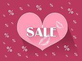 Valentine Sale — Stock Photo