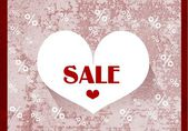 Valentine Sale — Foto Stock