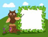 Forest education — Stock Vector