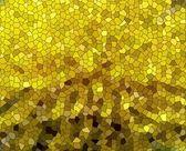 Yellow mosaic — Stock Photo