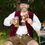 Постер, плакат: Bavarian man