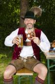 Bavarian man — Stock Photo