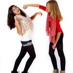 Girlfriends fighting — Stock Photo #54467441