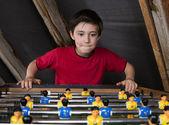 çocuk masa futbolu — Stok fotoğraf