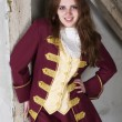 Girl dressed as a prince — Stock Photo #54526421