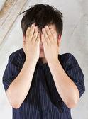 Portrét mladého chlapce — Stock fotografie