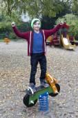Boy on playground — Stock Photo