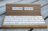 Challenge yourself — Stock Photo