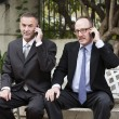 Two businessmen on the phone — Stock Photo #61601705