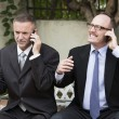Two businessmen on the phone — Stock Photo #61601707