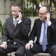 Two businessmen on the phone — Stock Photo #61601713