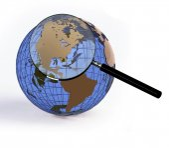 Earth globe — Stock Photo