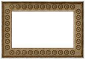 Ramka na zdjęcia - stare drewno — Zdjęcie stockowe