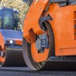 Road Construction, steamroller — Stock Photo #63770269