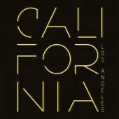 California T-shirt fashion Typography — Stock Vector