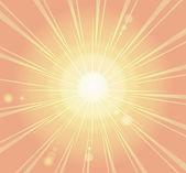 Sunburst, ray retro background  — Stock Vector