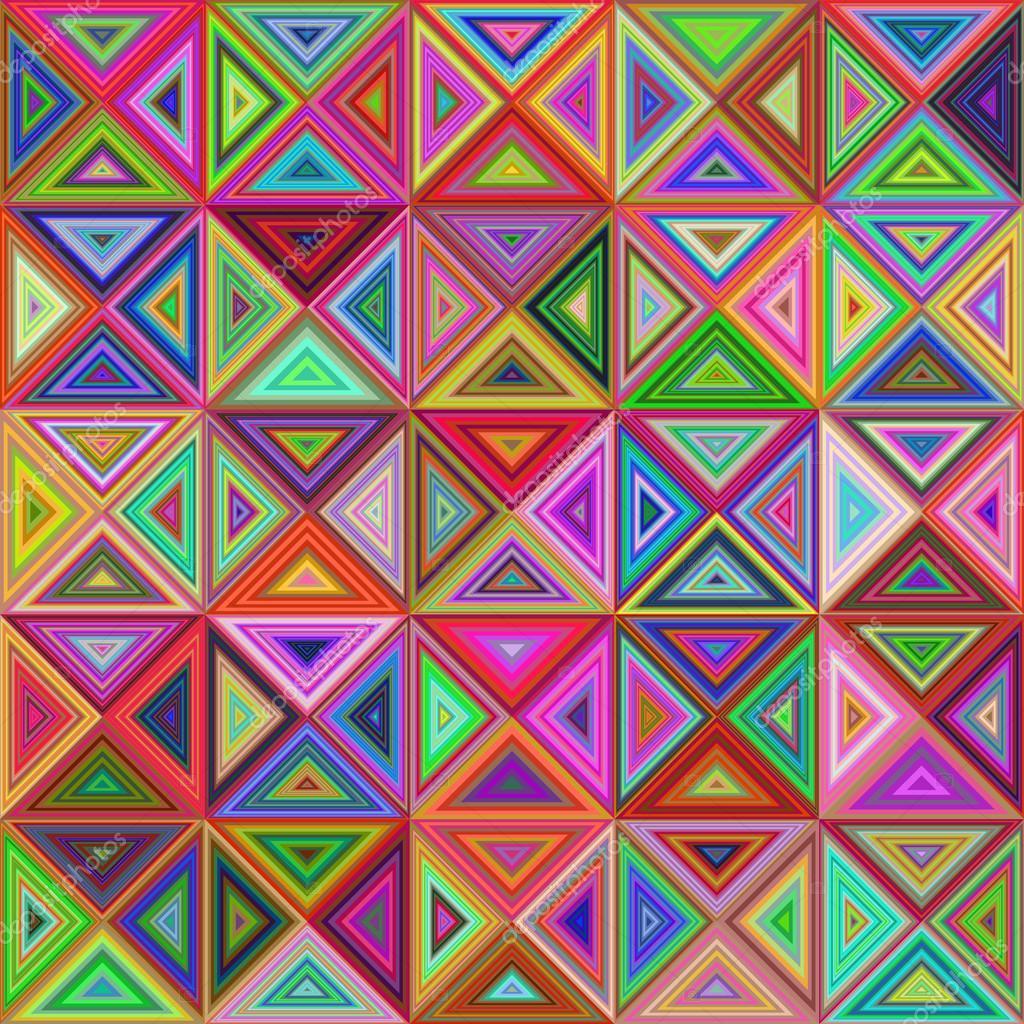 Abstract kleurrijk driehoek moza ek achtergrond stockvector davidzydd 122709428 - Mozaiek ontwerp ...