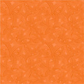 Orange seamless pattern background — Stock Vector