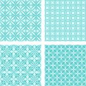Blur seamless pattern background set — Vetorial Stock