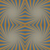 Azure bronze whirl background — Stock Vector