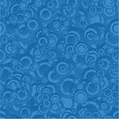 Priorità bassa del reticolo blu senza giunte del cerchio — Vettoriale Stock